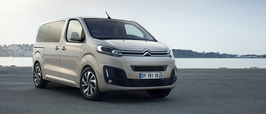 citroen spaceTourer технологии