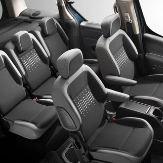 Интерьер Citroen Berlingo Multispace